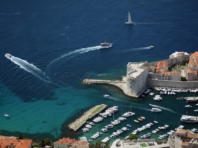 Charter yachts in Dubrovnik