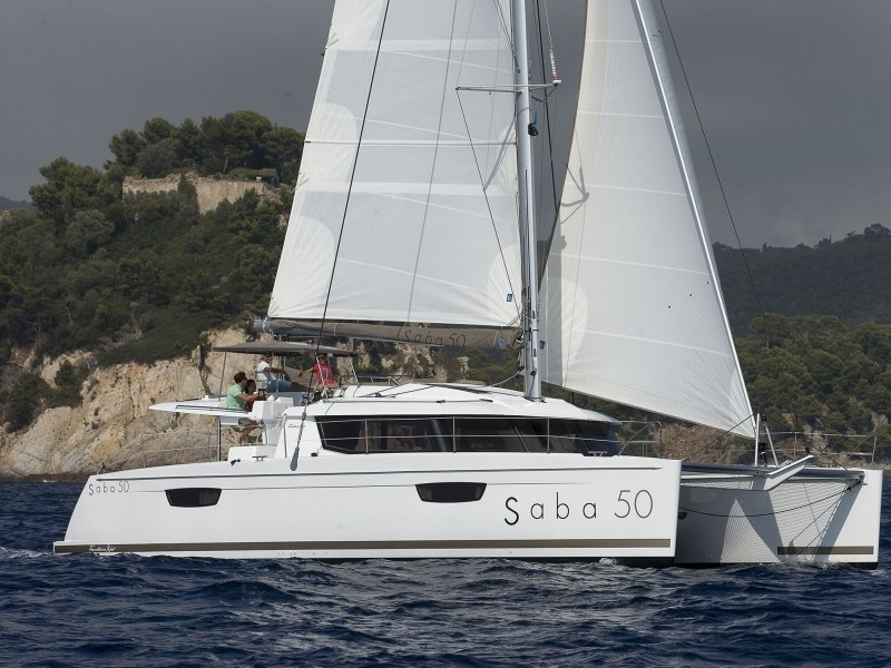 FOUNTAINE PAJOT SABA 50 Catamarani Charter Croazia