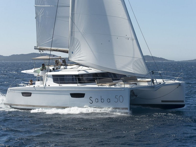 Fountaine Pajot Saba 50 rent