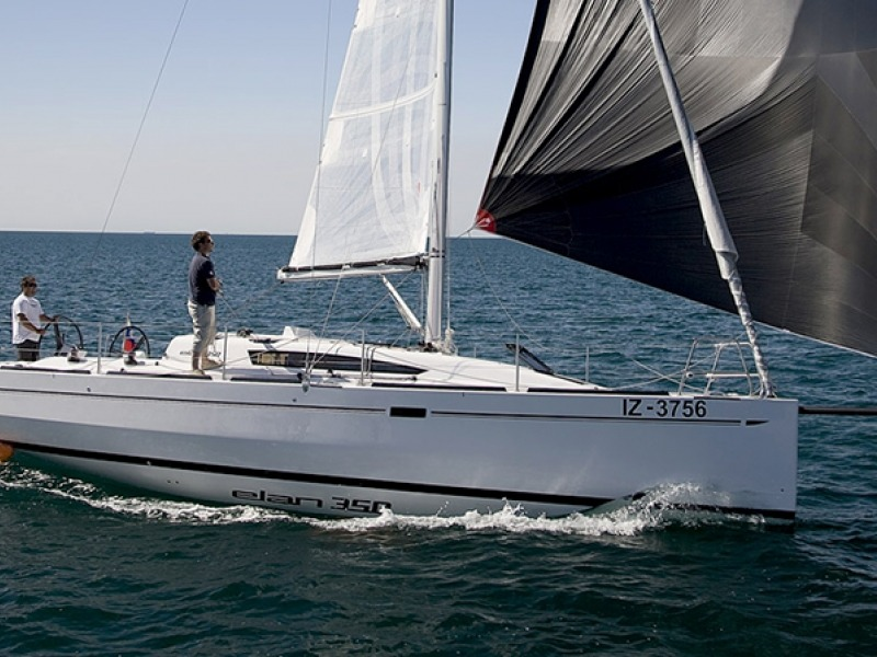 ELAN 350 Sailboat Charter Croatia