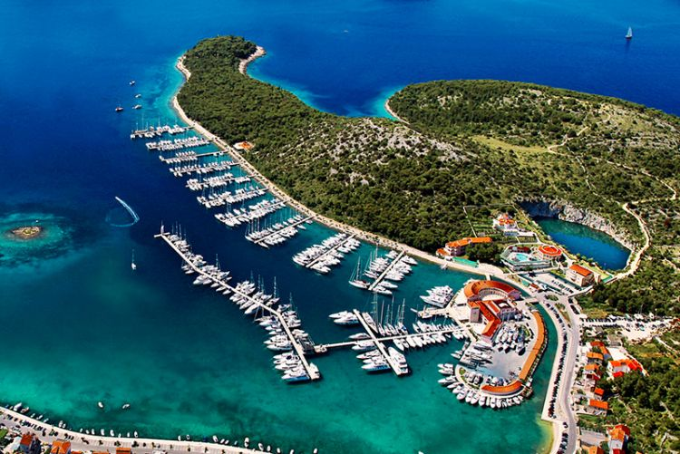 Marine in Croatia, Croatian coast, Adriatic Croatia International Club