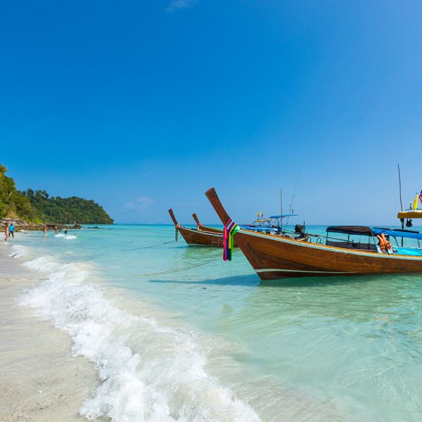 Thailand, Charter vacation in Asia