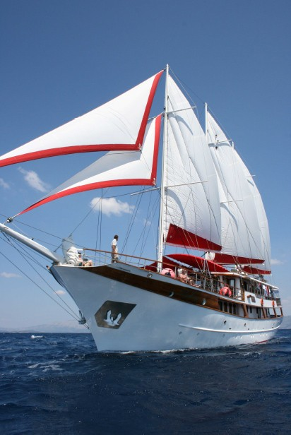 Gulet Barbara Charter Kroatien