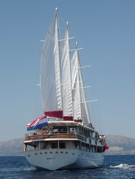 Gulet Barbara Charter Croatia