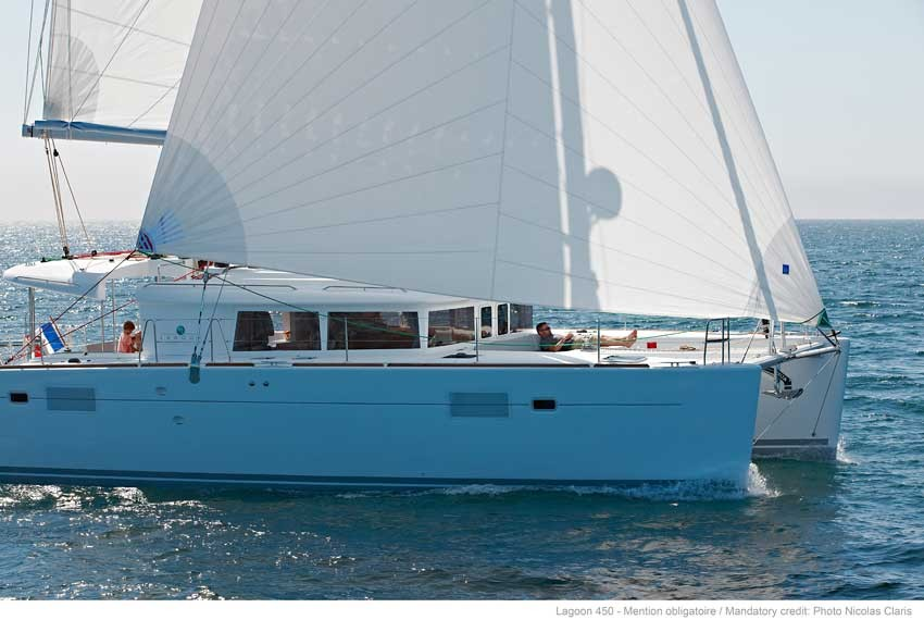 Lagoon 450  Charter Kroatien