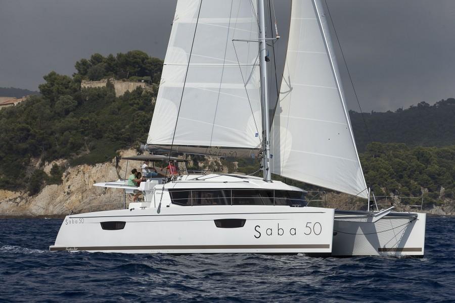 Fountaine Pajot Saba 50 charter