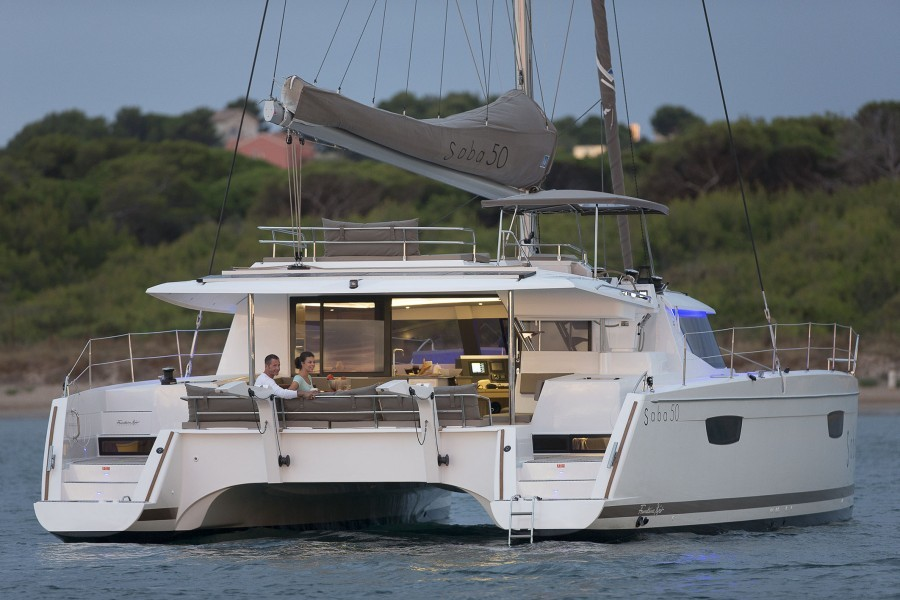 Fountaine Pajot Saba 50 najam