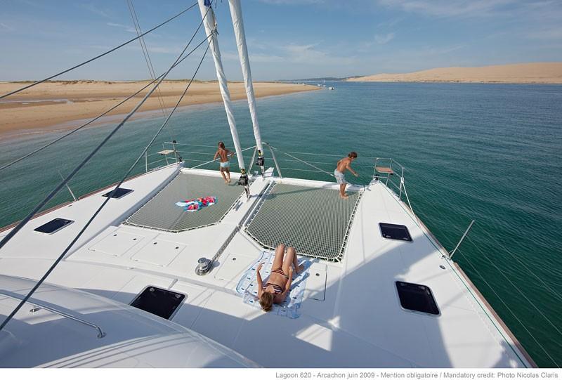 Lagoon 620 segeln