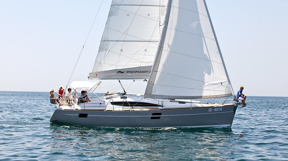 Elan 394 Impression charter Croazia