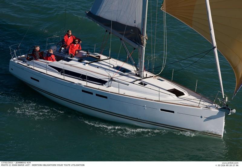 Sun Odyssey 439 charter Croatia