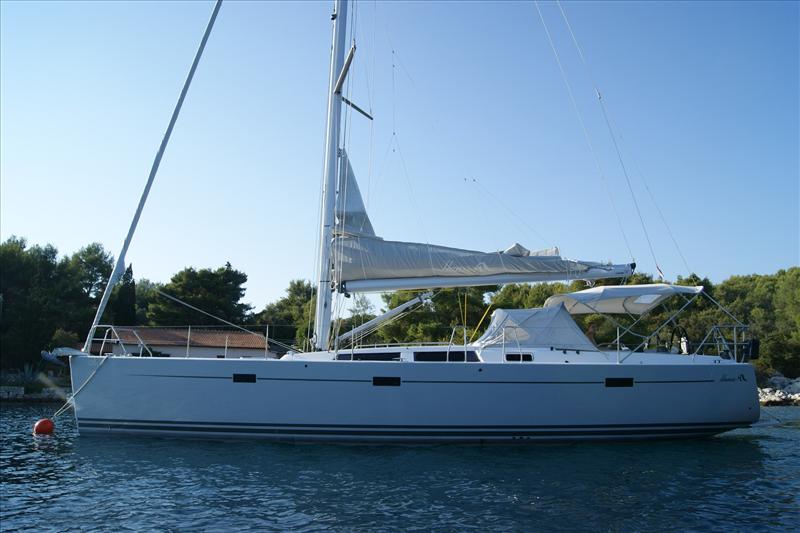 Hanse 470 charter Croazia