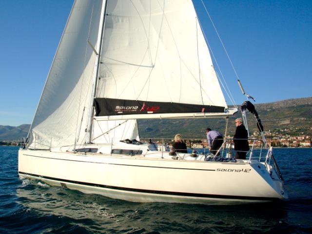 Salona 42 charter Kroatien