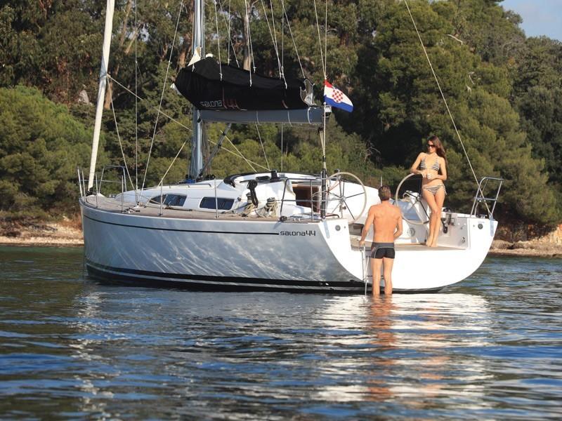 Salona 44 charter Croatia