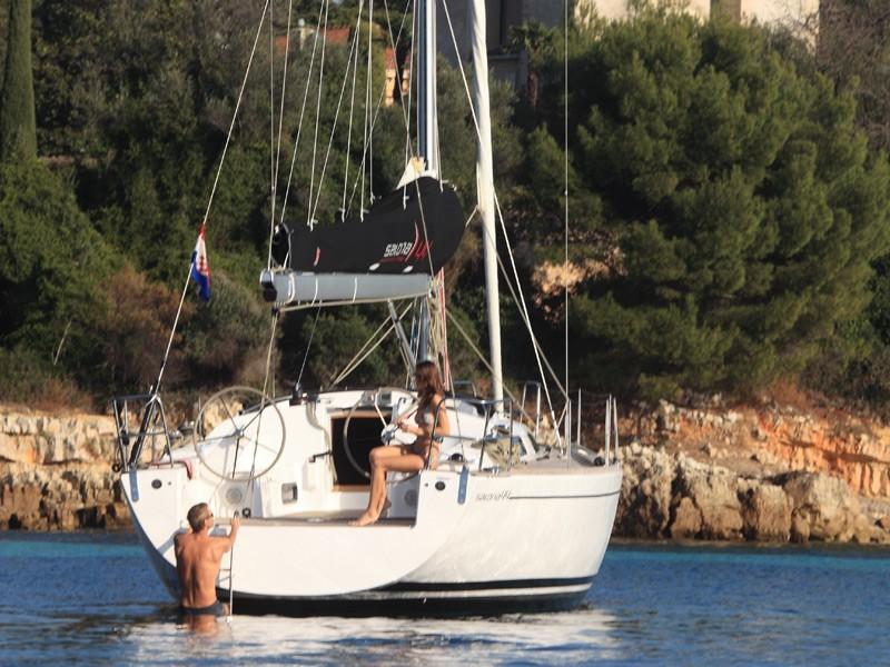 Salona 44 charter Kroatien