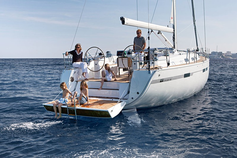 Bavaria 45 cruiser charter Croatia