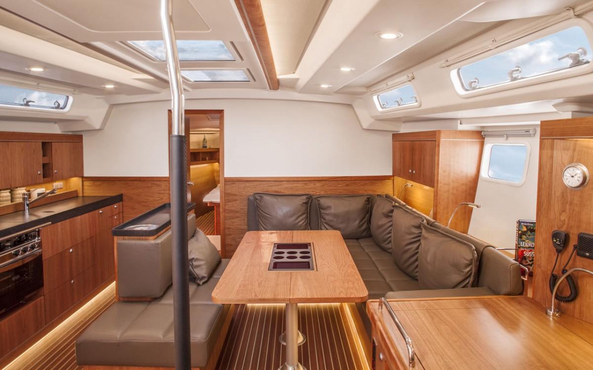 Hanse 505 charter