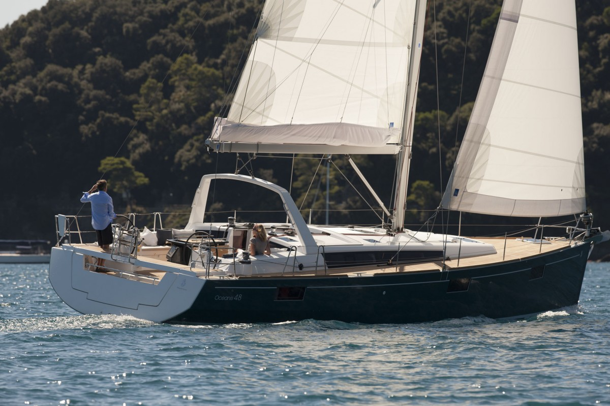 Beneteau Oceanis 48 segeln
