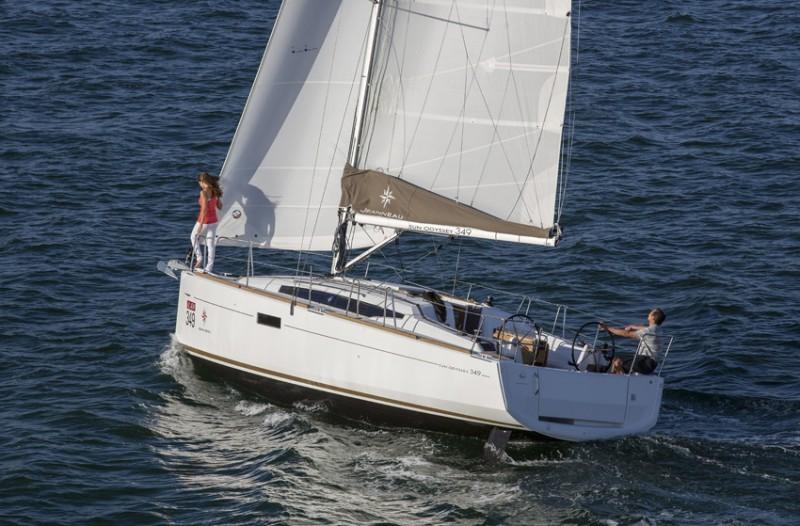 Sun Odyssey 349 Hrvatska