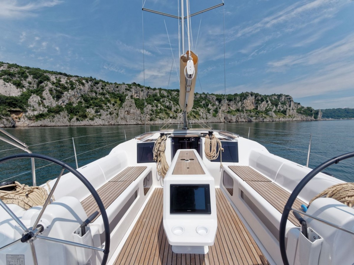 DUFOUR 412 Charter