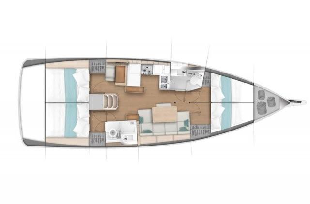 Sailing-boat-sun-odyssey-440-layout